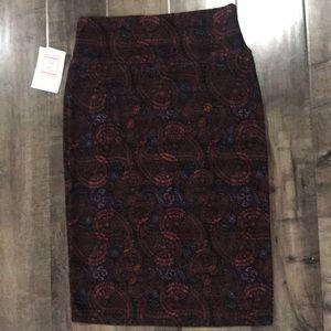 LuLaRoe Paisley Cassie Skirt